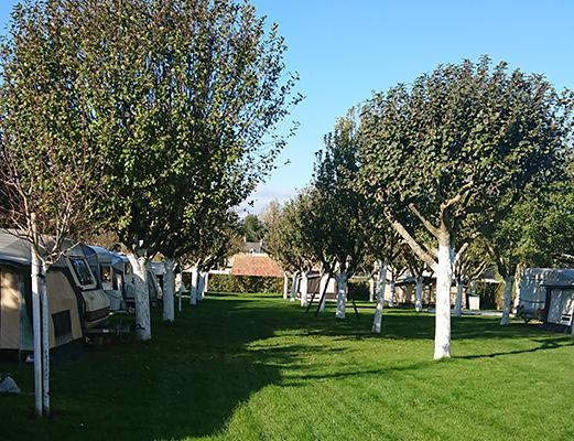 emplacement caravanes à Banville